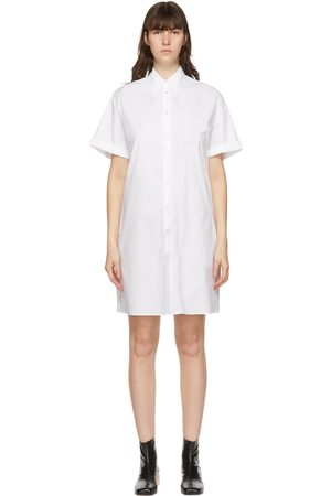 MM6 MAISON MARGIELA Women Casual Dresses - Poplin Polo Dress