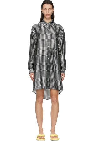 MM6 MAISON MARGIELA And Check Shirt Dress