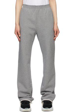 MM6 MAISON MARGIELA Grey Unbrushed Basic Lounge Pants