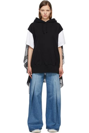 MM6 MAISON MARGIELA Scarf Back Sleeveless Hoodie