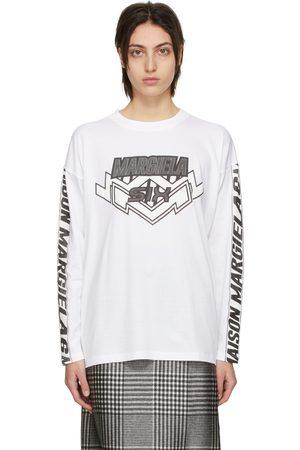 MM6 MAISON MARGIELA Motocross Logo Long Sleeve T-Shirt