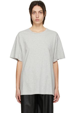 MM6 MAISON MARGIELA Grey Back Logo T-Shirt