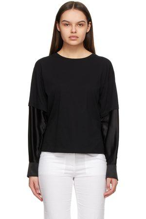 MM6 MAISON MARGIELA Double Layer Long Sleeve T-Shirt