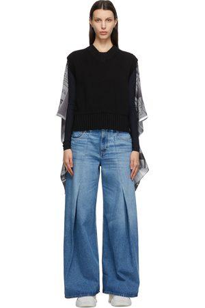 MM6 MAISON MARGIELA Scarf Back Sweater Vest