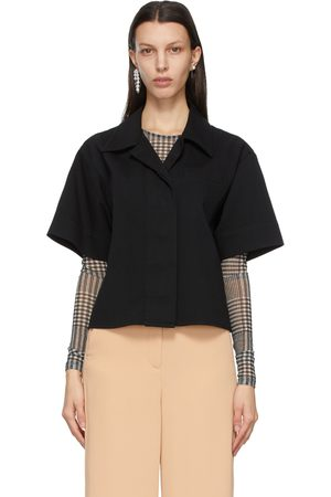 MM6 MAISON MARGIELA Bull Denim Short Sleeve Shirt
