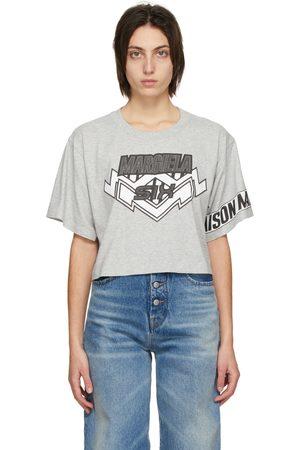 MM6 MAISON MARGIELA Grey Motocross T-Shirt