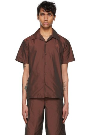 Marc Jacobs Burgundy Heaven by Tiny Teddy Short Sleeve Shirt