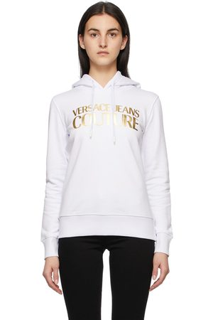VERSACE And Institutional Logo Hoodie