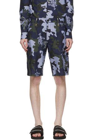 VERSACE Camo Logo Shorts