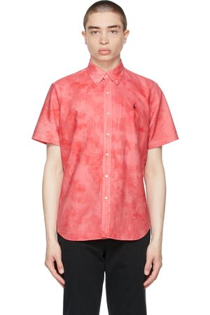 Polo Ralph Lauren Tie-Dye Classic Fit Oxford Short Sleeve Shirt