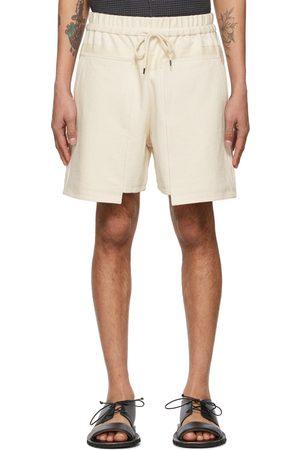 KURO Off- Denim Loose Baker Shorts