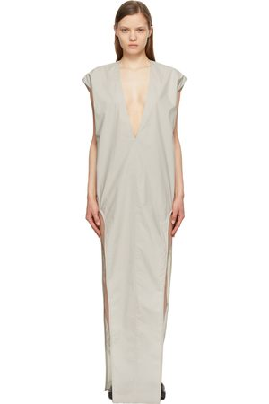 Rick Owens Grey Arrowhead Dress
