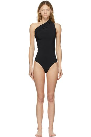 Rick Owens One-Shoulder One-Piece Swimsuit