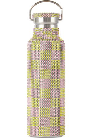 Collina Strada Sports Equipment - And Check Rhinestone Water Bottle, 24 oz