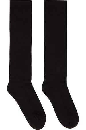 Rick Owens Logo Crew Socks