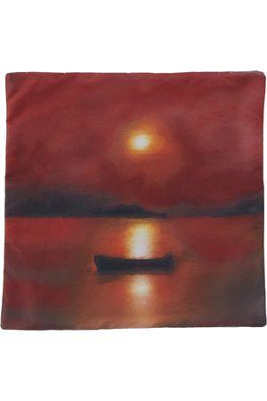 Serapis SSENSE Exclusive Fisherman Dawn Print Pillow Case