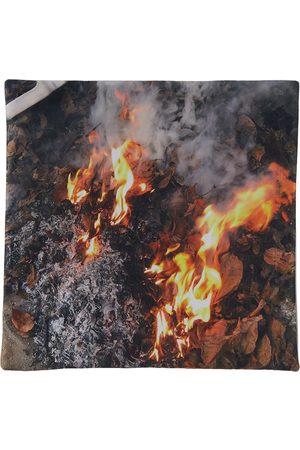 Serapis SSENSE Exclusive Fire Print Pillow Case