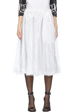 Comme des Garçons Women Midi Skirts - Layered Skirt