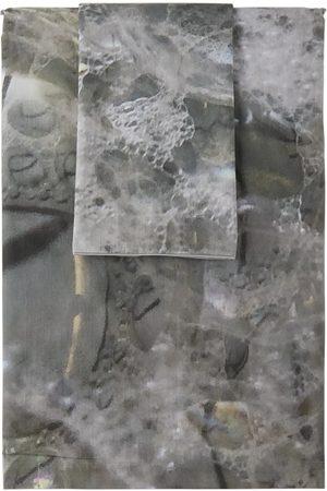 Serapis SSENSE Exclusive Grey Bubbles Linen Set, Queen