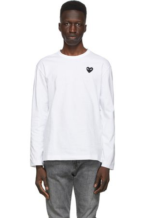 Comme des Garçons And Heart Long Sleeve T-Shirt