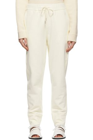 Jil Sander Women Sweats - Off- Cuffed End Lounge Pants
