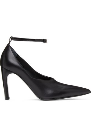 Jil Sander Women Heels - SSENSE Exclusive Ankle Strap Pumps