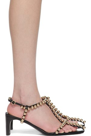 Jil Sander Pearl Heeled Sandals