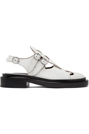 Jil Sander Women Loafers - Antick Slingback Loafers