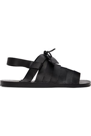 Jil Sander Strapped Flat Sandals