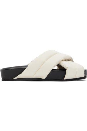 Jil Sander Criss Cross Sandals