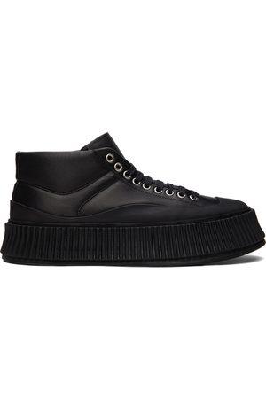 Jil Sander Leather Platform Sneakers