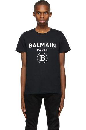 Balmain Men T-shirts - Print Logo T-Shirt