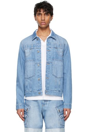 Balmain Denim Deconstructed Jacket