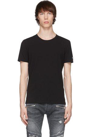 Balmain Black Crewneck T-Shirt