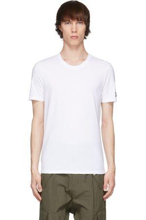 Balmain White Crewneck T-Shirt