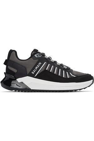 Balmain Men Sneakers - And Grey B-Trail Sneakers
