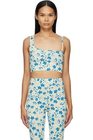 pushBUTTON Women Tank Tops - SSENSE Exclusive and Single Strap Crop Tank Top