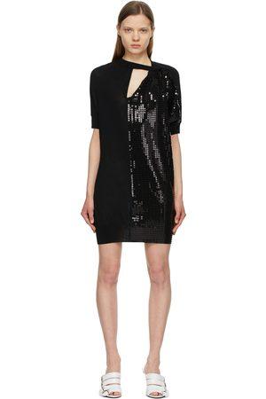 JUNYA WATANABE Wool Sequin Mini Dress