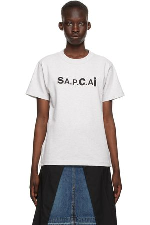A.P.C. Grey Sacai Edition Kiyo T-Shirt