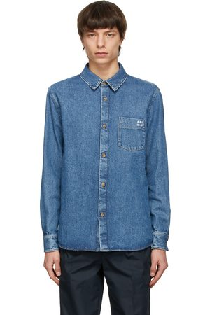 A.P.C. Men Denim - Denim Victor Over Shirt