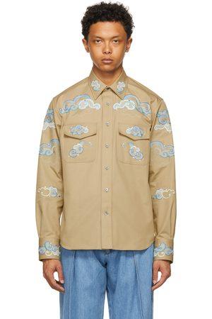 Lanvin Men Shirts - Embroidered Shirt
