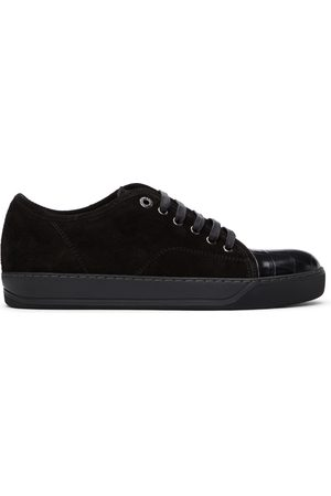 Lanvin Suede and Croc DBB1 Sneakers