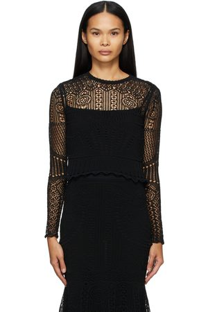 Alexander McQueen Patchwork Lace Sweater