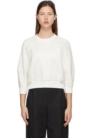 Alexander McQueen Women Sweatshirts - Organza Overlay Sweatshirt