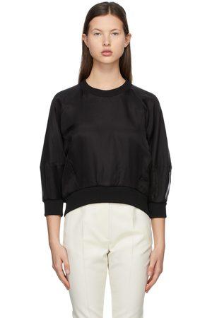 Alexander McQueen Organza Overlay Sweatshirt