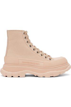 Alexander McQueen Women Sneakers - Tread Slick Platform High Sneakers
