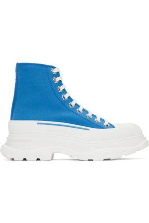 Alexander McQueen Women Sneakers - SSENSE Exclusive Tread Slick Platform High Sneakers