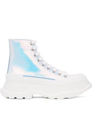 Alexander McQueen Holographic Tread Slick Platform High Sneakers
