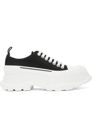 Alexander McQueen And Tread Slick Platform Low Sneakers