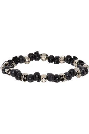 Alexander McQueen Men Bracelets - Beaded Skull Bracelet